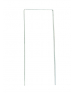 U-draadpen Ø 4 mm / 30 x 12 x 30 cm / gepunt