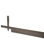 Alu Mevo Edge Pro 3,2 mm bruin 229 x 10,2 cm