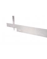 Alu Mevo Edge Pro 4,8 mm zilver 244 x 14 cm