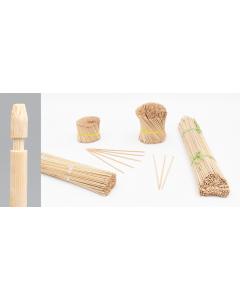 Bambini bamboe etiketsteker 32 cm naturel
