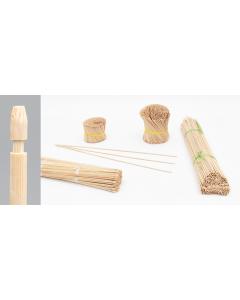 Bambini bamboe etiketsteker 70 cm naturel
