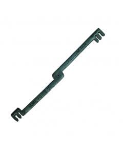 Multiclip 3 & 4 mm / 20 cm zwart
