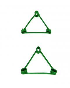 Bamboe driehoekklem 9 cm