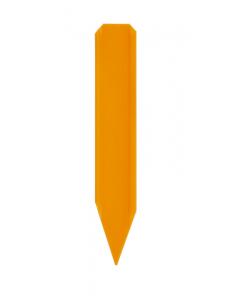Steekstripetiket 6 x 1 cm oranje