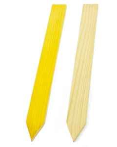Steeketiket hout 40 x 3,7 cm