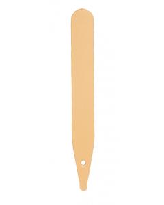 Steekstripetiket RT 10 x 1,3 cm beige