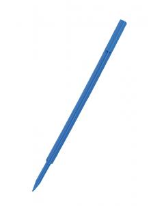 Houder verlengstuk 35 cm blauw