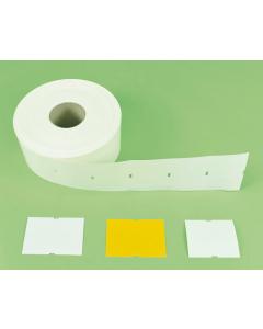 Markus Media etiket 0,4 mm / 12 x 8,2 cm geel
