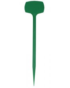 Plaatetiket recht M-28 / 6,5 x 4,5 cm groen