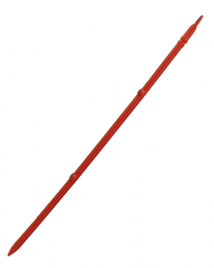 Ringot piket 43 cm rood