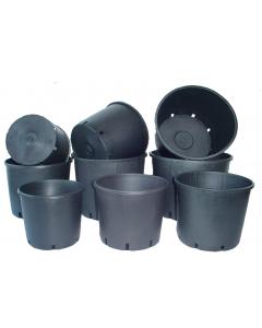 Ritzi container 10 l / Ø28 x 22 cm zwart