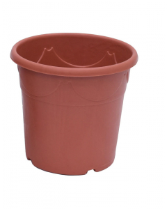 Decor container 12,5 l terracotta