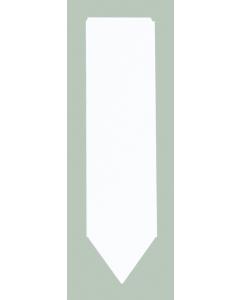 Laser steeketiket 175 µ / 3,5 x 13,5 cm / 12-vel