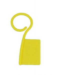 Merkvlaggetjes geel