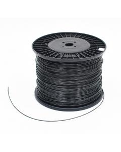 Mevonyl gewasdraad Ø 3,0 mm x 1.000 m / zwart