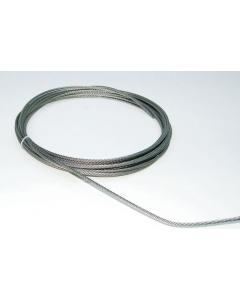 Kabel 7x7 RVS / Ø 4 mm per meter