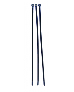 Tie rep kabelbinder 300 x 4,8 mm zwart