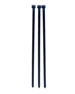 Tie rep kabelbinder 300 x 7,6 mm zwart