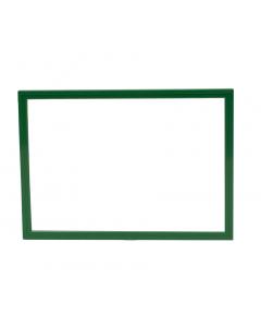 Plakkaatraam plus A4 groen