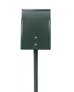 Etikethouder A5 / staand-dicht / stok 46 cm groen