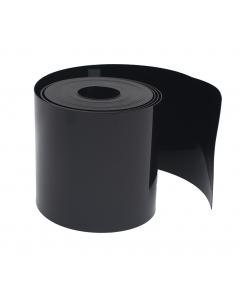 Gietrand HDPE 2 mm / 25 m x 30 cm zwart