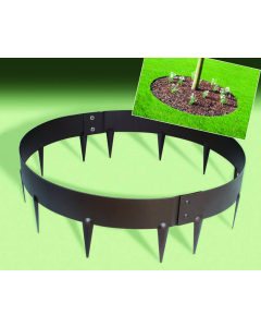 Ever Edge Garden Ring 1,6 mm bruin Ø 60 x 7,5 cm