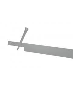 Mevosteel 2 mm RVS AISI 304 / 225 x 15,2 cm