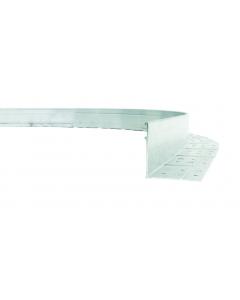 Alu Mevo L-Flex zilver 230 x 7,5 cm