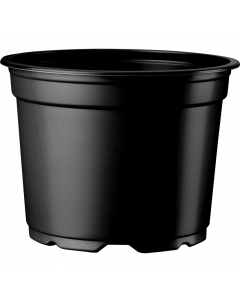Vacuüm pot 0,3 l / Ø 9 cm zwart