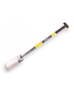 S&J kabelspade met opstap / glasfiber T-steel geel