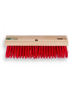 Vero bezem 41 cm PPN vezel rood / zonder steel