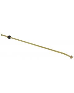 Birchmeier spuitstok gebogen 50 cm messing
