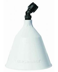 Birchmeier sproeikap rond / Ø 12,5 cm wit