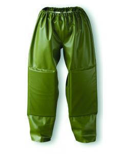 Dolfing PVC kruipbroek met kniestukken / M groen