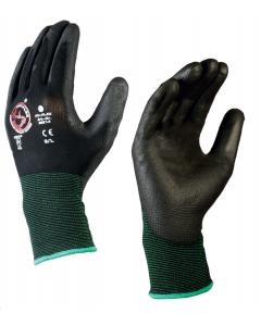 Bull-Flex PU handschoen / S (07) zwart