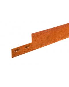 Mevosteel 5 mm ongecoat 225 x 15,2 cm