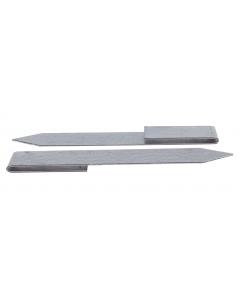 Mevosteel eindverbindingsclip verzinkt 30,5 cm
