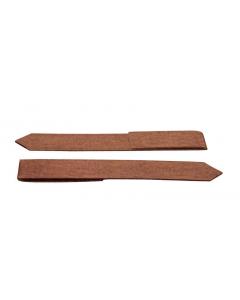 Mevosteel eindverbindingsclip ongecoat 30,5 cm