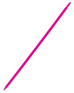 Kruispiket 40 cm fluorescerend roze