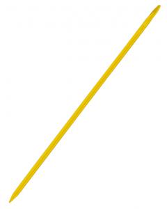 Kruispiket 40 cm geel