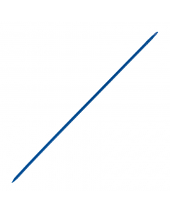 Kruispiket 60 cm blauw