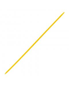 Kruispiket 60 cm geel